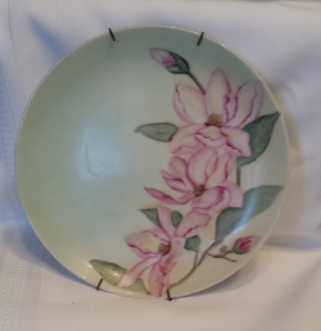 Clematis Plate - Pink