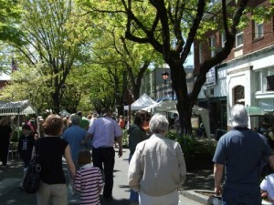 Plant Sale in Downtown Camas